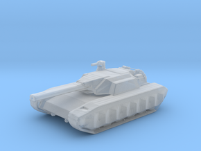 A-8 Tiger Battle Tank in Smooth Fine Detail Plastic