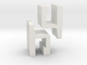 Geneva XS repair kit in White Natural Versatile Plastic