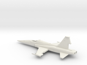 F5A-144-1-Airframe in White Natural Versatile Plastic