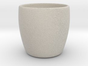 Cup + Your name  in Natural Sandstone