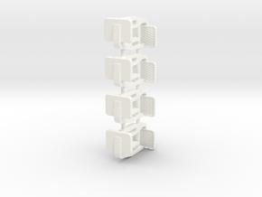 S1-723   Rangiertritte für Märk.-Wagen in White Processed Versatile Plastic