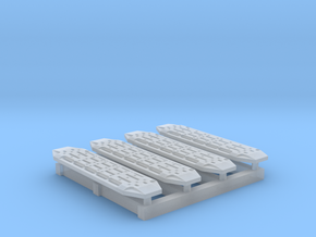 1/ 87 Scale 4x4 Traction Matts 2 Sets in Smoothest Fine Detail Plastic