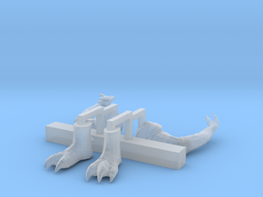 Lizard Alien Arms and Feet x1 in Smoothest Fine Detail Plastic