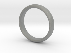 Simple ring in Gray PA12