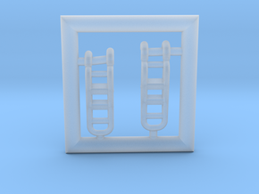 T38-144-5-Ladders in Smooth Fine Detail Plastic