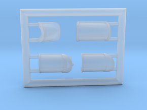 T38-144-6-Canopy-clear in Smoothest Fine Detail Plastic