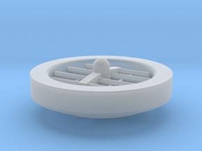 (1:285) Trenn Flying Platform (1933 Patent) in Smooth Fine Detail Plastic
