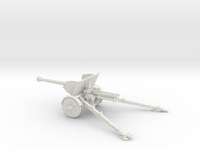 1/48 IJA Type 90 75mm Field Gun in White Natural Versatile Plastic