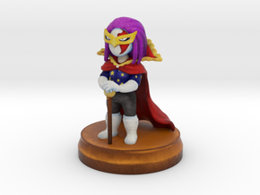 divaours chibi figure in Natural Full Color Sandstone
