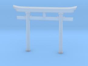 Torii, Myojin style (Japanese Gate) in Smooth Fine Detail Plastic