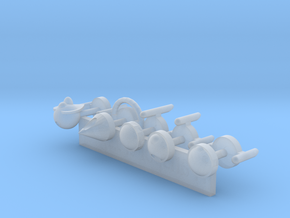 TransportPlugs in Smooth Fine Detail Plastic