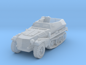 sdkfz 250 A1 scale 1/100 in Smooth Fine Detail Plastic
