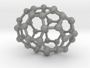 0666 Fullerene c44-38 d3d in Gray PA12