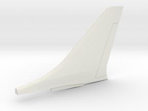F8-144scale-06-Tail in White Natural Versatile Plastic