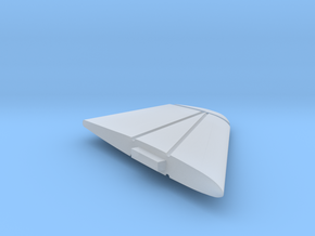 F8-144scale-11-LeftWingTip-Down in Smooth Fine Detail Plastic