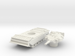 centurion AVRE scale 1/87 in White Natural Versatile Plastic