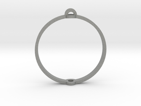 "World 1.25"" (Ring) in Gray PA12"