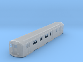 N Scale Budd R32 Subway Car Body Shell in Smoothest Fine Detail Plastic
