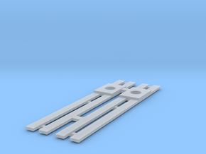 HO Roofwalks for IHP Illinois Terminal DE PCC Body in Smooth Fine Detail Plastic