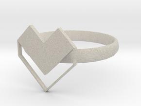 HEART 2 in Natural Sandstone: 1.5 / 40.5