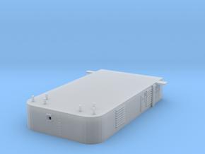 1/144 Bismarck AftSuperstructure 3rd Deck in Smooth Fine Detail Plastic