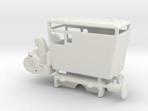 wengernalpbahn xrote 21 1/160 in White Natural Versatile Plastic