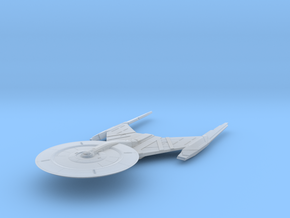 """Federation USS Discovery V4 5.2"""" long in Smooth Fine Detail Plastic"""