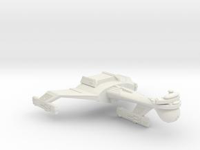 3788 Scale Klingon C5 Light Dreadnought WEM in White Natural Versatile Plastic