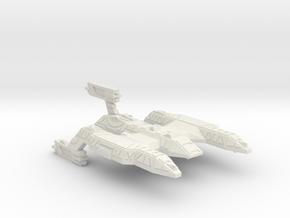 3788 Scale Lyran Refitted Wildcat Battlecruiser CV in White Natural Versatile Plastic