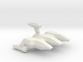 3788 Scale Lyran Caracal Military Police Corvette in White Natural Versatile Plastic