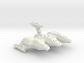 3125 Scale Lyran Refitted Military Police Corvette in White Natural Versatile Plastic