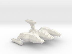 3788 Scale Lyran Refitted Military Police Corvette in White Natural Versatile Plastic