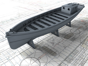 1/128 Royal Navy 45ft Motor Launch x1 in Smooth Fine Detail Plastic