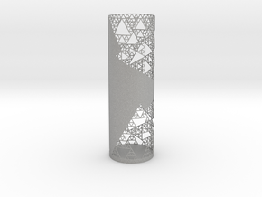 Sierpinski Decorative Vase in Aluminum
