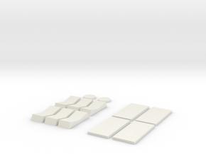 Tie 181 Chest Box Greeblie Type B in White Natural Versatile Plastic