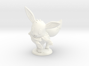 Eevee / Harry Potter - Cross Over in White Processed Versatile Plastic