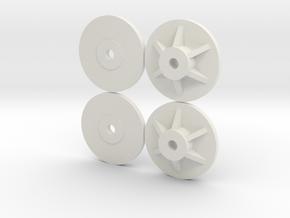 Marui Samurai Hotshot adapters in White Natural Versatile Plastic