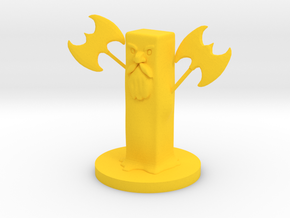 Butter Golem in Yellow Processed Versatile Plastic