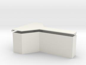 YV666 box #1 in White Natural Versatile Plastic