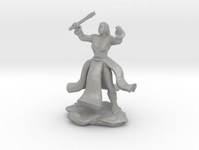 Water Genasi Druid with Wand of Magic Missile. in Aluminum