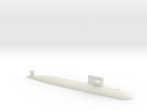 PLA[N] 093A Submarine, 1/1250 in White Natural Versatile Plastic