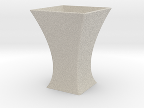 Vase Mod 002 in Natural Sandstone