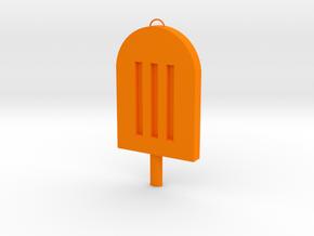 Popsicle in Orange Processed Versatile Plastic