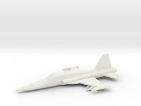 1/350 F-5E in White Natural Versatile Plastic