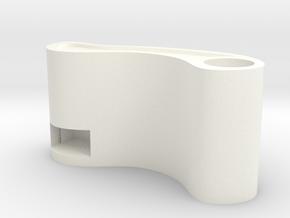 Pencil box in White Processed Versatile Plastic