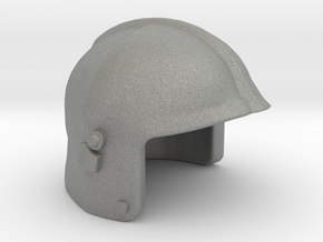 Fire Helmet Gallet in Gray Professional Plastic