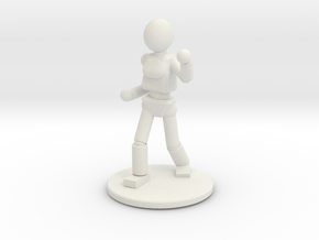 Prototype: Female Unarmed  in White Natural Versatile Plastic
