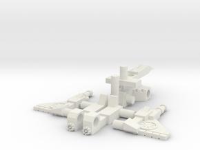 P-01 Vampiric Loner in White Natural Versatile Plastic