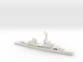 1/600 Scale Sumner Class FRAM 2 in White Natural Versatile Plastic