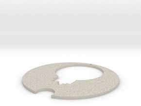 Necklace in Natural Sandstone
